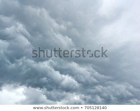 Chmura · pioruna · duży · Błękitne · niebo · niebo · niebieski - zdjęcia stock © tarczas