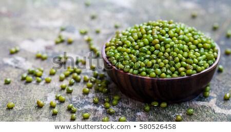 fasulye · doku · doğa · yeşil · yeme - stok fotoğraf © zerbor