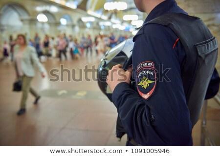 russisch · soldaat · man · lopen · jonge - stockfoto © papa1266