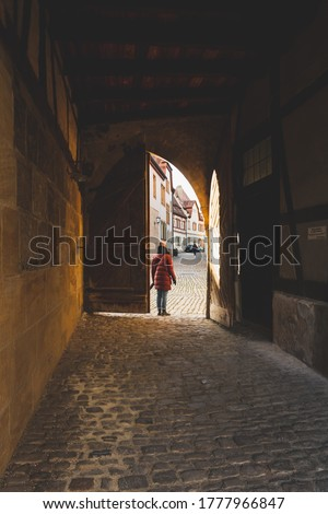city gate of the old town of Bamberg Stock photo © meinzahn