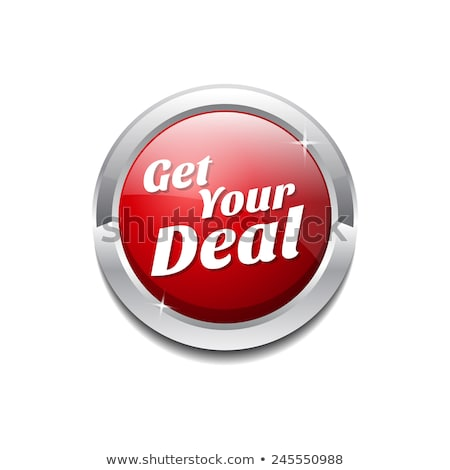 get your deal red vector icon button stock photo © rizwanali3d