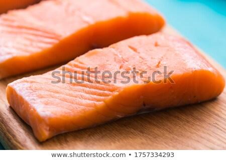 handen · vlees · keuken - stockfoto © oleksandro