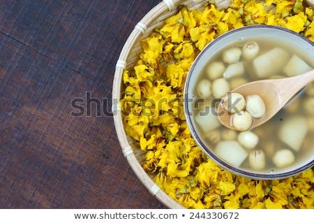 Vietnamese Food Sweet Lotus Seed Gruel Foto stock © xuanhuongho