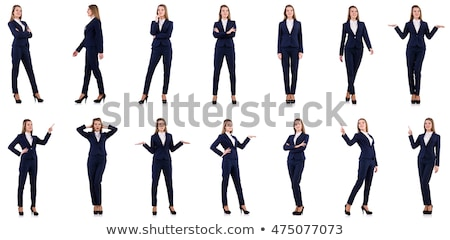 Attractive woman posing in casuals Stock photo © stockyimages
