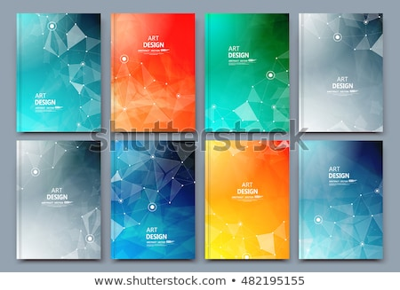blue book cover design stock photo © vipervxw