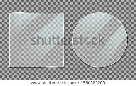Czarny plastikowe bezszwowy streszczenie geometryczne Zdjęcia stock © Zebra-Finch