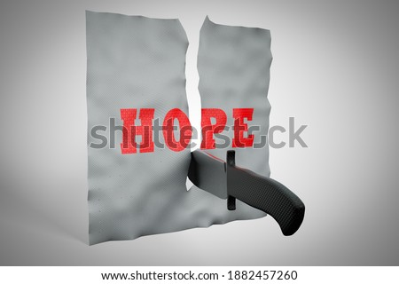 ножом Cut бумаги провал слово успех Сток-фото © fuzzbones0