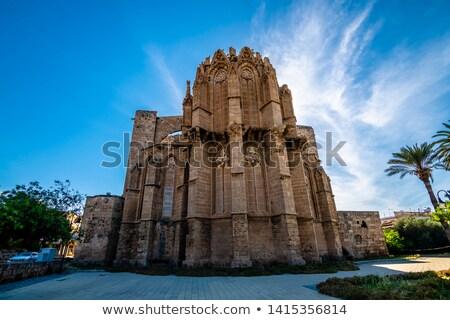 st nicholas cathedral lala mustafa mosque famagusta cyprus stock photo © kirill_m