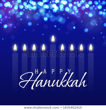 Happy Hanukkah holiday background Stock photo © netkov1