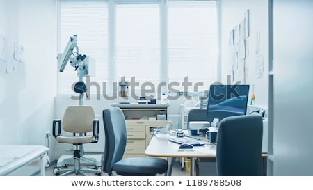medical doctor at office stock photo © hasloo