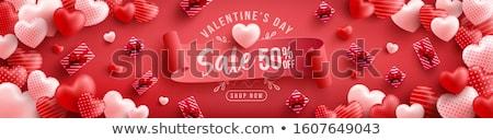 valentine s card background eps 10 stock photo © beholdereye