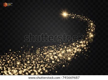 Csillagos csillámlás nyom eps 10 vektor Stock fotó © beholdereye
