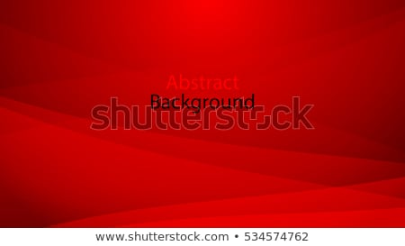 Abstract red tone background with curve lines Stock photo © punsayaporn
