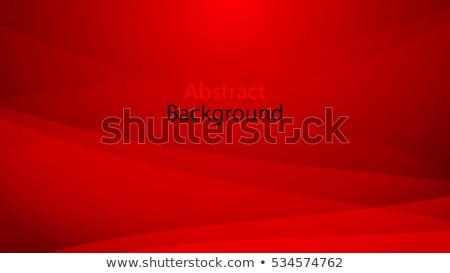 Resumen rojo curva líneas stock vector Foto stock © punsayaporn