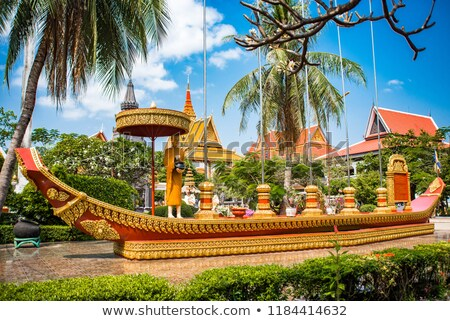 multicolored Buddhist temple Stock photo © ssuaphoto