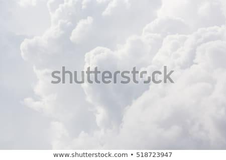 Witte wolk blauwe hemel wolken voorjaar licht Stockfoto © serg64