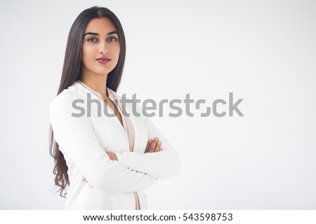 portrait of beautiful indian woman stock photo © acidgrey