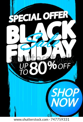 Black friday vásár felfelé 80 százalék el Stock fotó © robuart