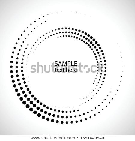 Mezzitoni cerchio vettore logo simbolo icona Foto d'archivio © designleo