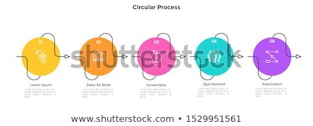 line · startup · ikona · wektora · zestaw - zdjęcia stock © robuart
