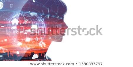 cerebro · búsqueda · humanos · inteligencia · investigación - foto stock © ra2studio