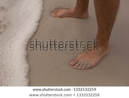 низкий человека Постоянный пляж Сток-фото © wavebreak_media