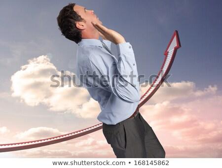 側面図 白人 ビジネスマン 立って 見える デジタル ストックフォト © wavebreak_media
