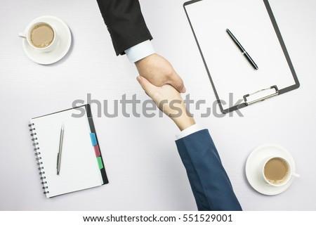 Górę widoku adwokat zespoły umowy Zdjęcia stock © Kzenon