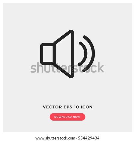 Ingesteld eenvoudige zwarte iconen geluid volume Stockfoto © evgeny89