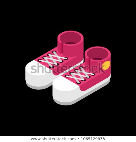 Sneaker Shoe isometric icon vector illustration Stock photo © pikepicture