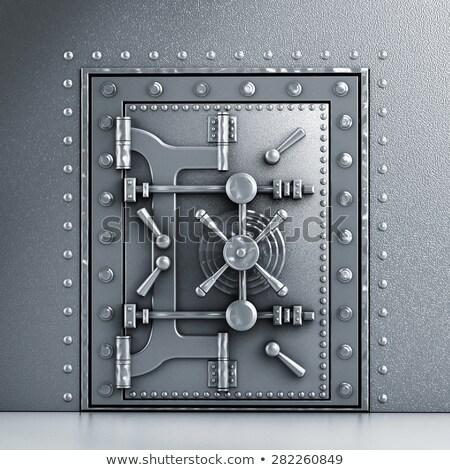 Sturdy metal door Stock photo © Ximinez