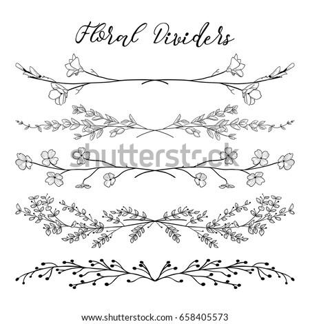 Сток-фото: Vintage · цветочный · кадр · декоративный · шаблон · лист