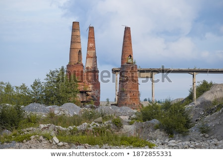 marble factory industrial ruins Stock photo © sirylok