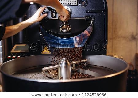 кофе · боб · охлаждение · бобов - Сток-фото © sumners