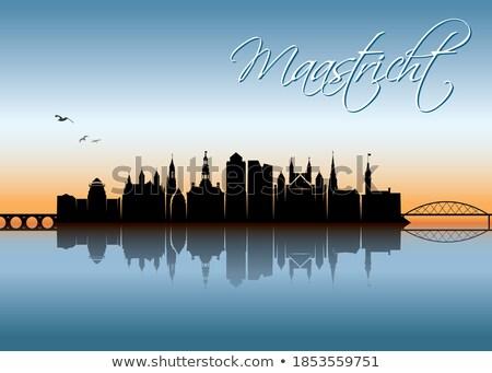 Cityscape of Maastricht Stock photo © Hofmeester