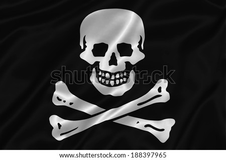 Skull and Crossbones on Paerchment Stock photo © AlienCat