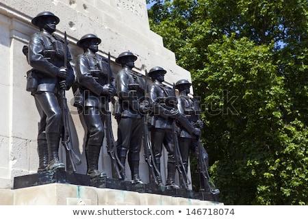 Város London első világ háború katona Stock fotó © Bertl123