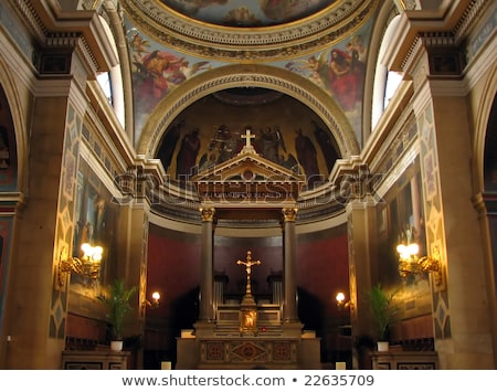 Notre Dame de Lorette, Paris Stock photo © photocreo
