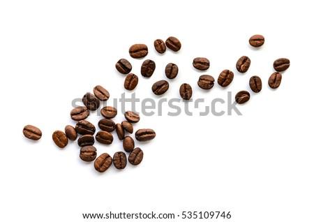 Stok fotoğraf: Kahve · çekirdekleri · kahve · doğa · içmek