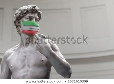 estátua · ver · florence · Itália · cidade · projeto - foto stock © magann
