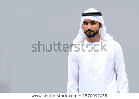 mão · empurrando · sucesso · botão · isolado · branco - foto stock © elnur