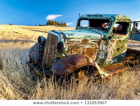 old truck rusts Stock photo © vwalakte