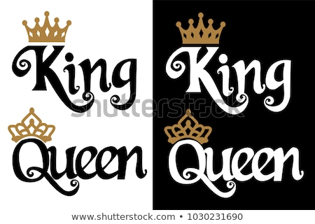 White  Queen and King Stock photo © no81no