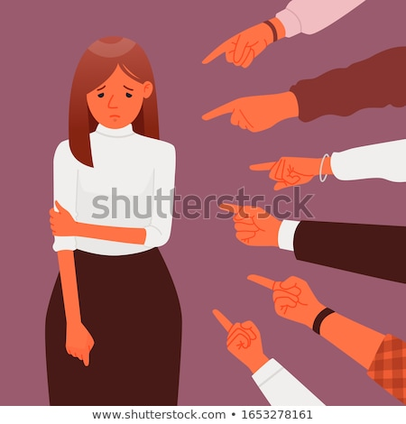 woman blaming Stock photo © ichiosea