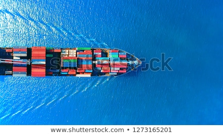 Logistic concept, container cargo ship transport import export i Stock photo © FrameAngel