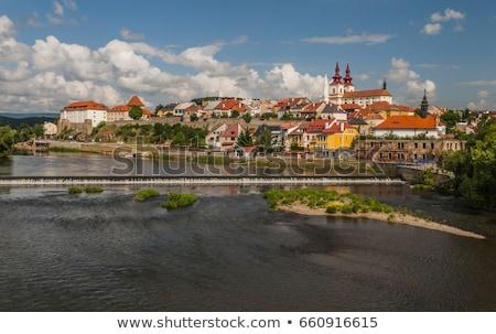 República Checa igreja arquitetura europa cidade ao ar livre Foto stock © phbcz