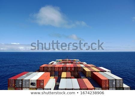 Chmury żeglarstwo Błękitne niebo Nevada USA Zdjęcia stock © emattil