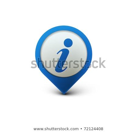 usuário · vetor · azul · ícone · web · botão - foto stock © rizwanali3d