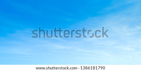 Blue sky background with clouds Stock photo © chris2766