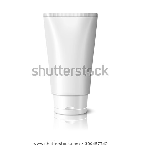 Kozmetikai krém csomag vázlat fehér tükröződő Stock fotó © Akhilesh